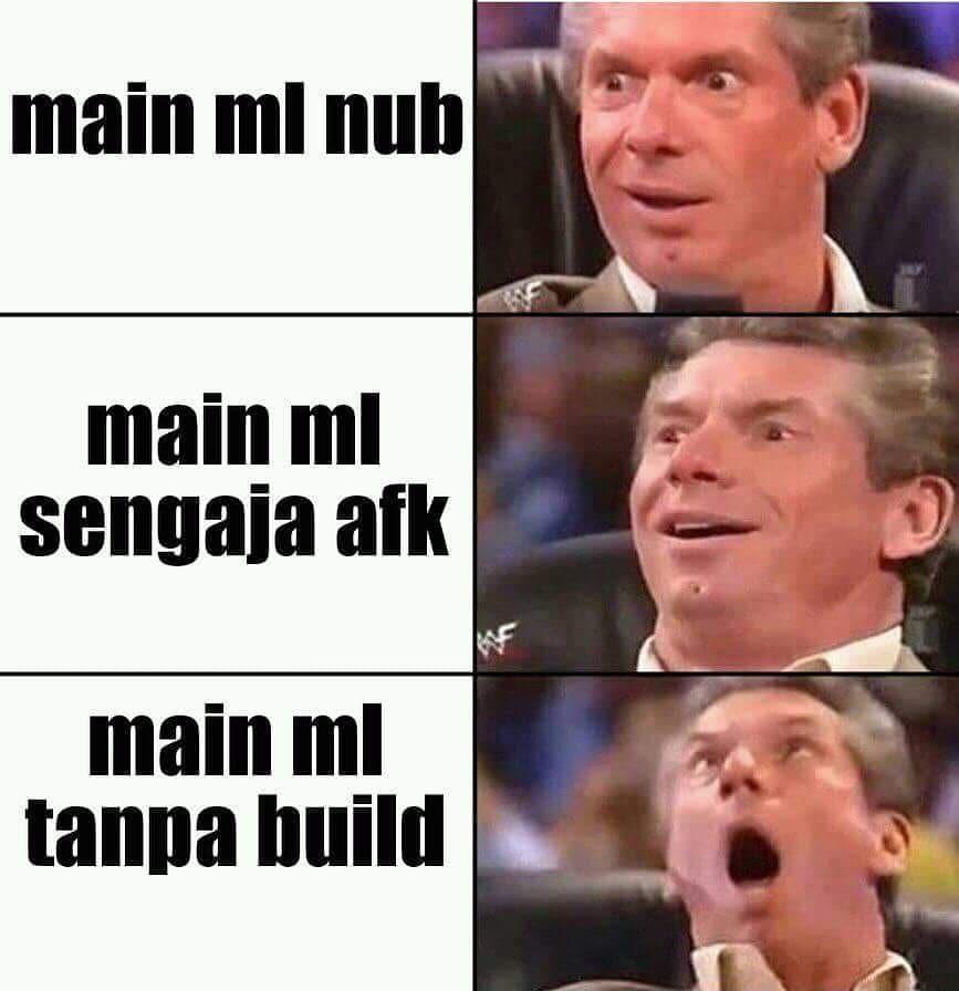 Meme Mobile Legends Noob Tanpa Build