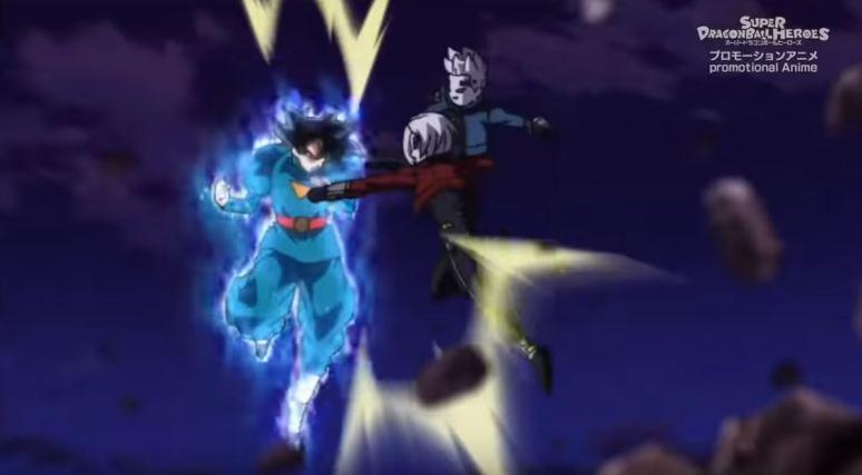 Goku versus Kamin dan Oren di Episode 10 Dragon Ball Heroes