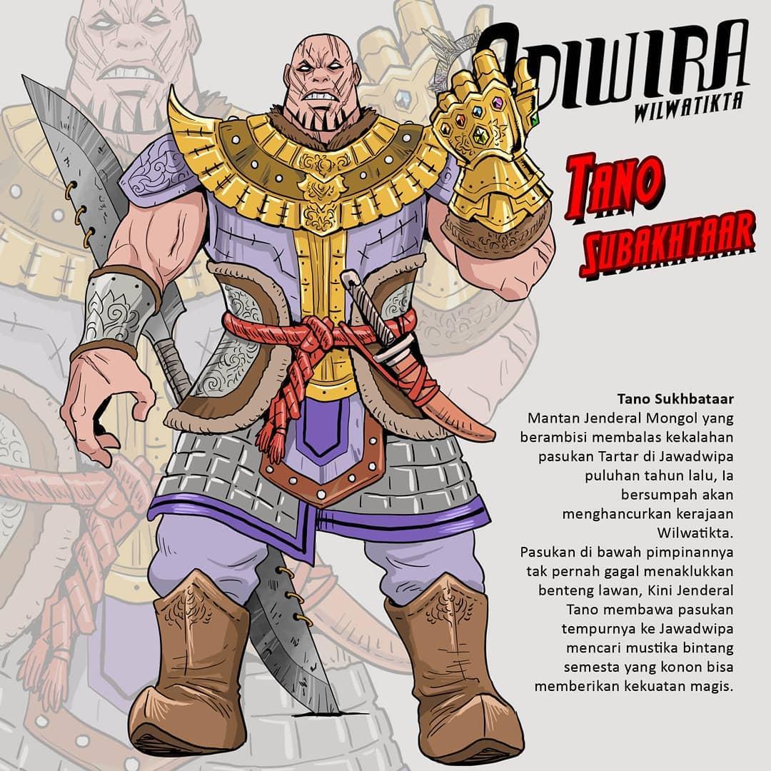 Karakter Avengers Endgame Tano Sukhbataar