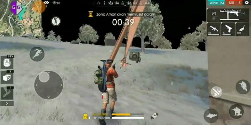 cheat antenna free fire