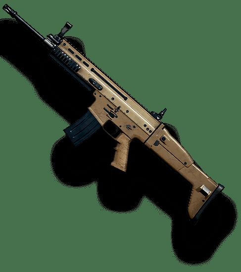 Senjata PUBG Pemula SCAR-L