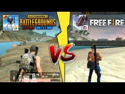 Free Fire (FF) vs PUBG Mobile Lite, Duel Rakyat Jelata