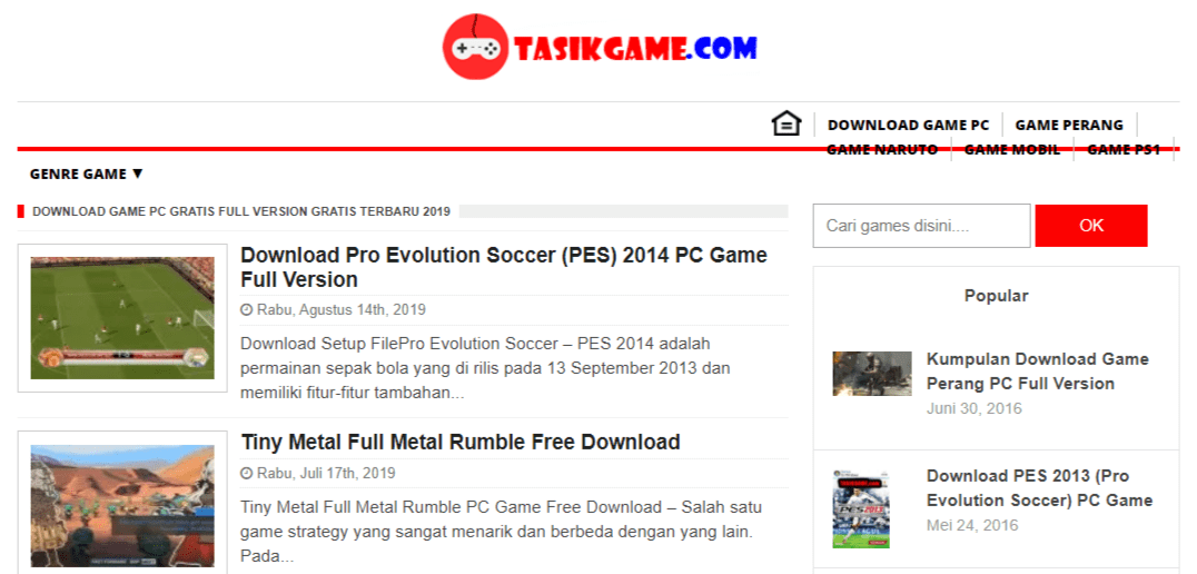 situs download game pc - Tasik Game