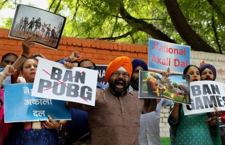 Protes Warga agar PUBG Dilarang di India