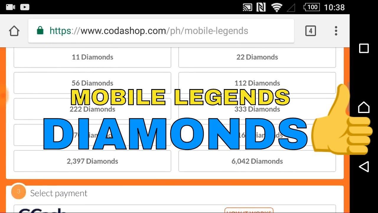 top up diamond mobile legends di codashop