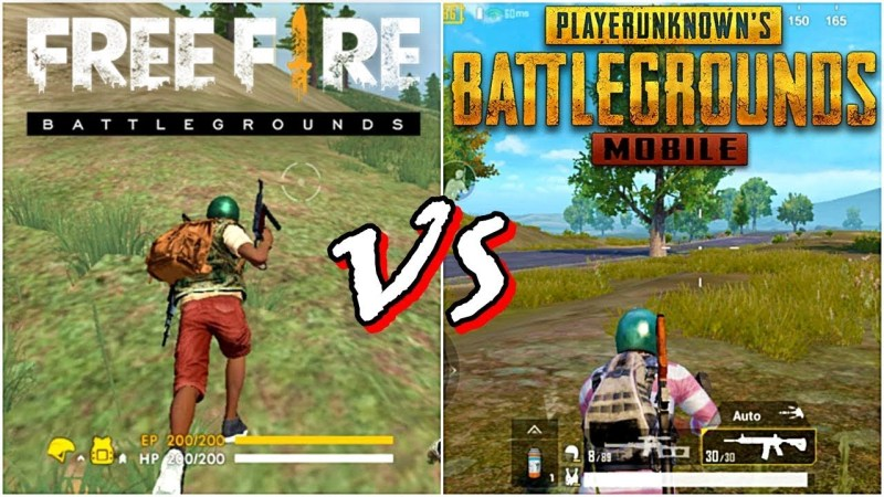Free Fire (FF) vs PUBG = Perbandingan Rakjel vs Sultan?
