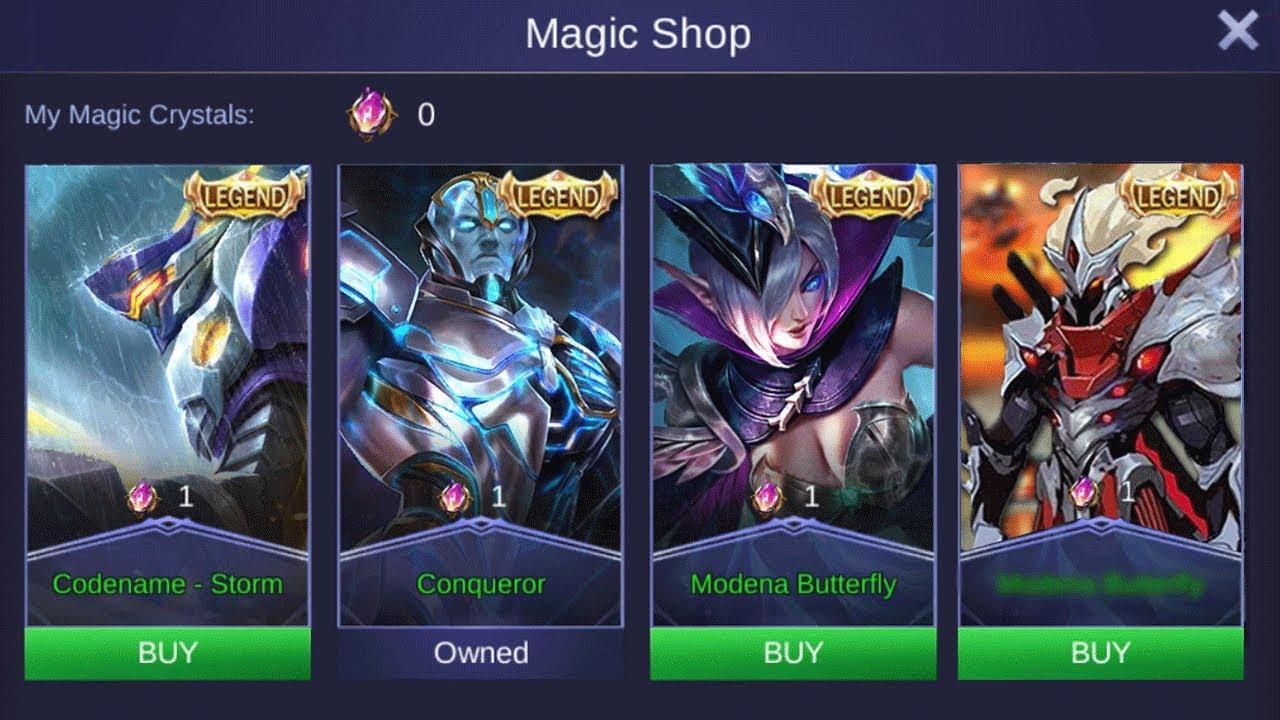 10 Skin Termahal di Mobile Legends (ML), Bukan Harga Rakjel!