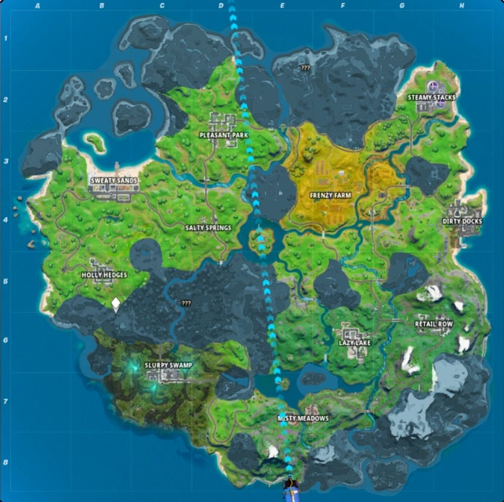 Fortnite chapter 2 Map Baru