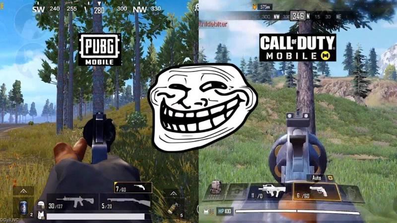10 Meme COD Mobile vs PUBG yang Bikin Free Fire KezeL!