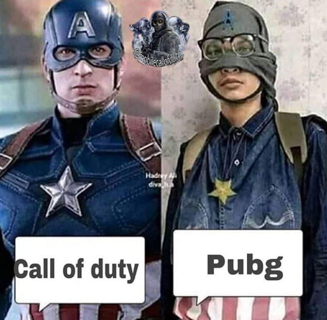 meme lucu cod mobile vs pubg