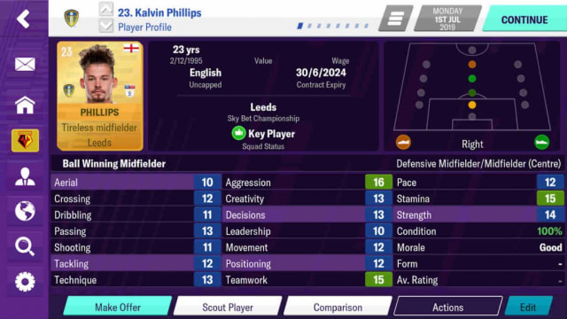 Football Manager 2020 Mobile PC Touch