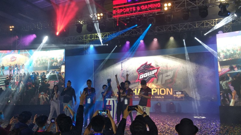 GGWP ID Sutomo Raih Juara di Final Major Series 2019
