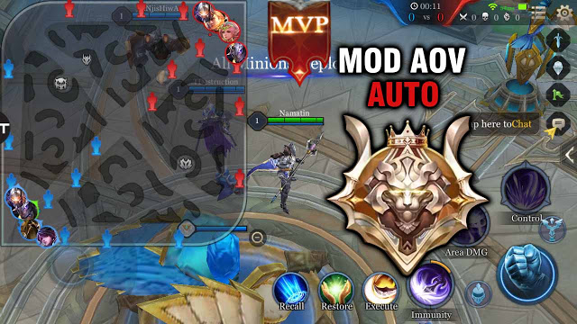 Cheat Map Hack MOD APK Arena of Valor (AoV) Terbaru 2020