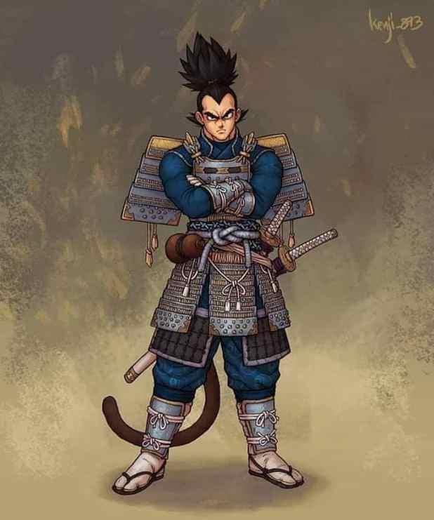 Samurai Vegeta