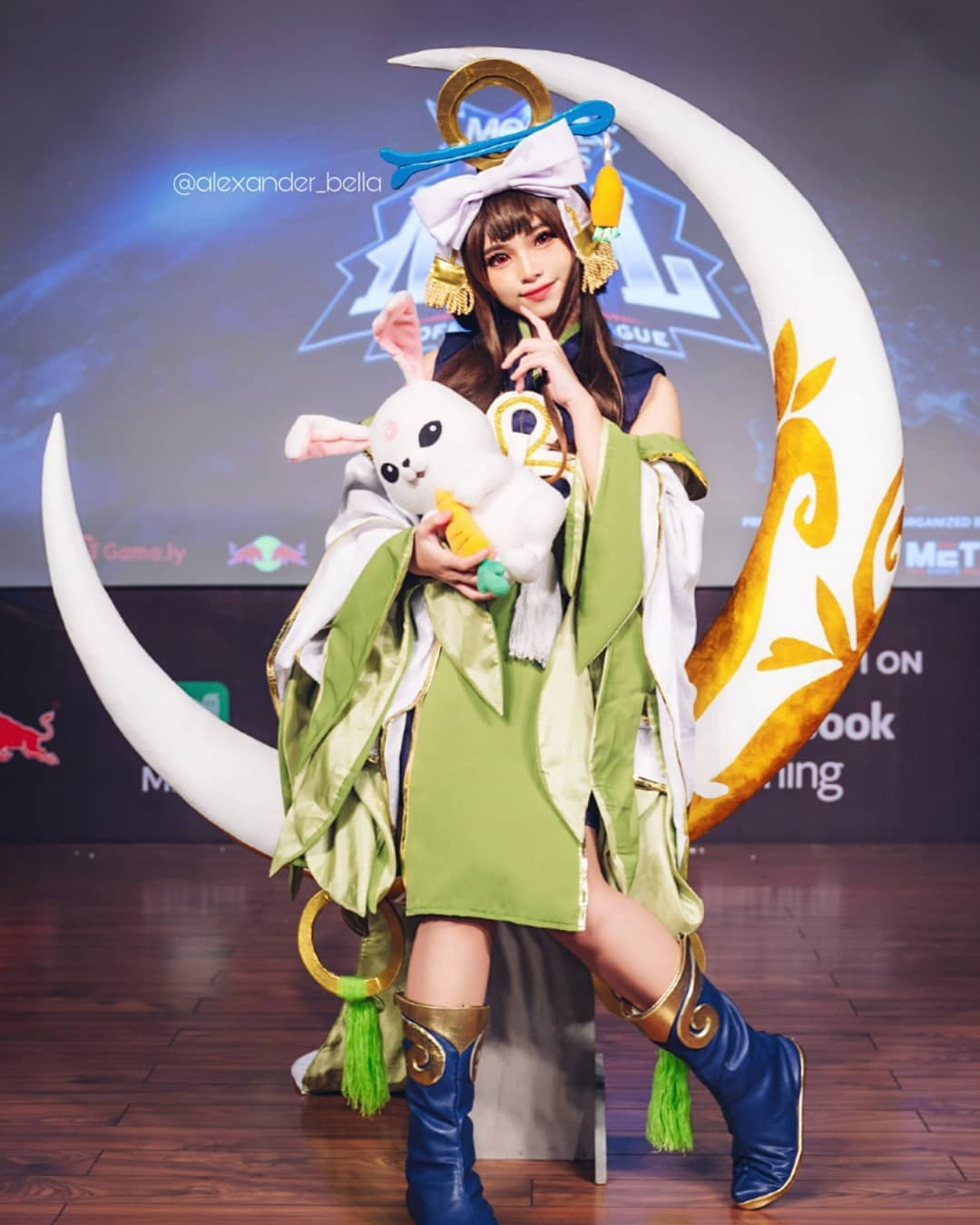 cosplay mobile legends Chang'e