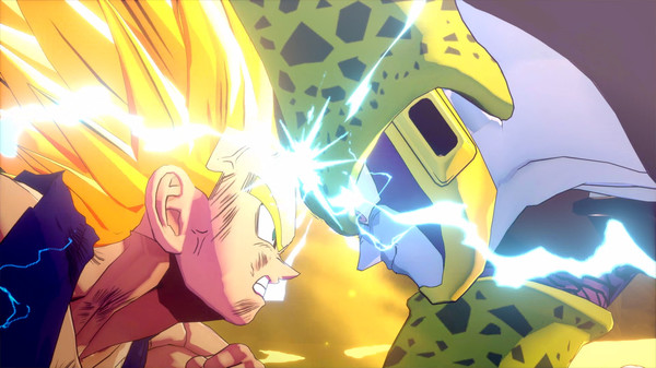 Vegeta vs Cell DBZ Kakarot