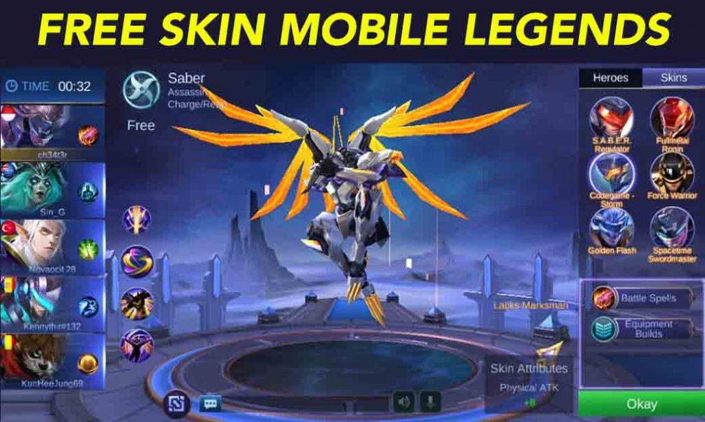 Cheat Skin Mobile Legends Ml Terbaru Di 2020 Unlock All