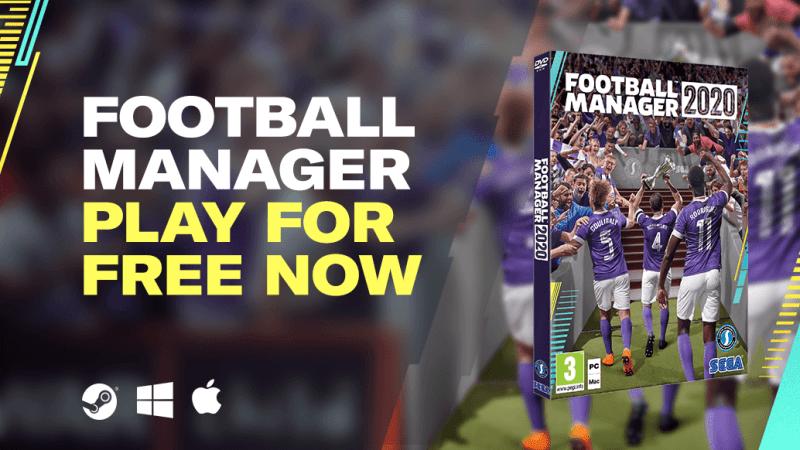 Football Manager 2020 Bisa di Download & Main Gratis, Ini Caranya!