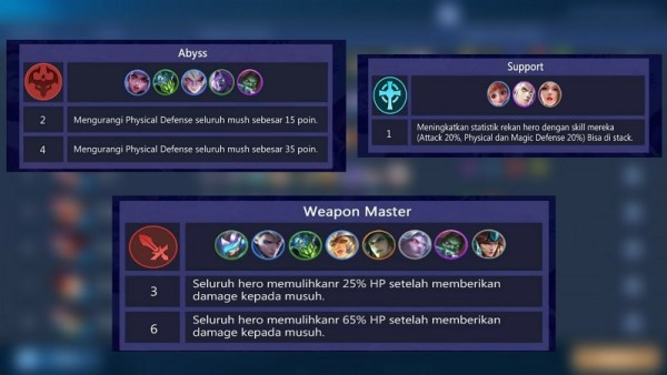 6 Weapon Master + 4 Abyss + 1 Support