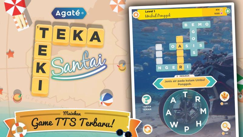 Kunci Jawaban TTS Santai Floating Market Level 1 – 30