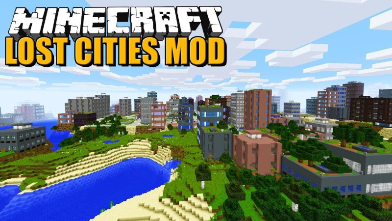 MOD Minecraft The Lost Cities