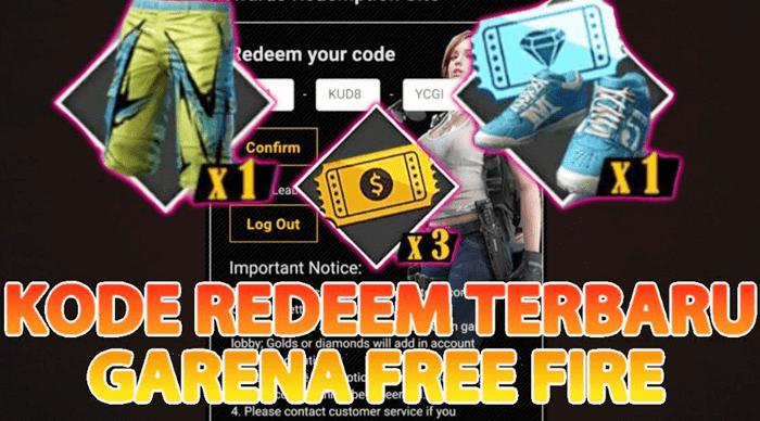 Kode Redeem Free Fire Ff Terbaru Oktober 2020 Gratis
