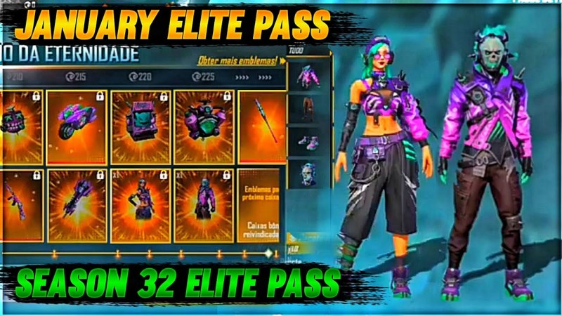 Bocoran Elite Pass Free Fire Season 32 Bertema Ghost Cloak