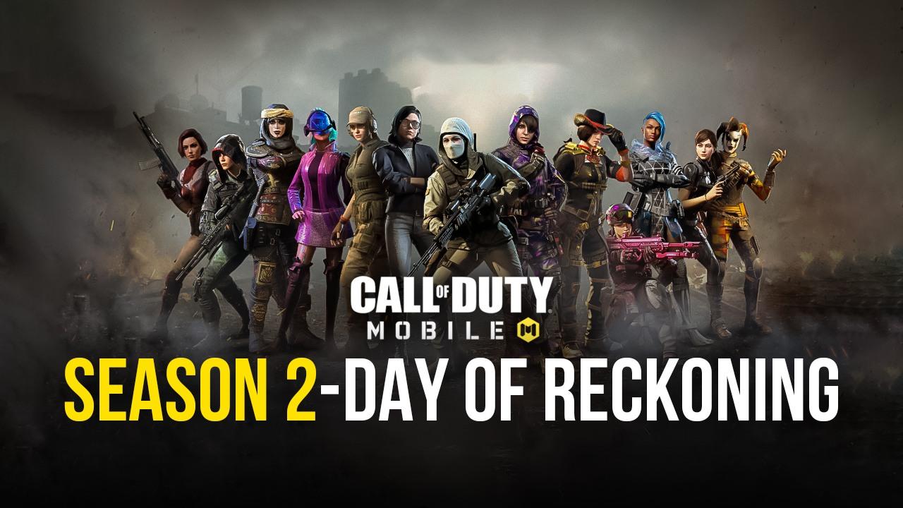 Call of Duty: Mobile Season 2 Day of Reckoning Sudah Dimulai