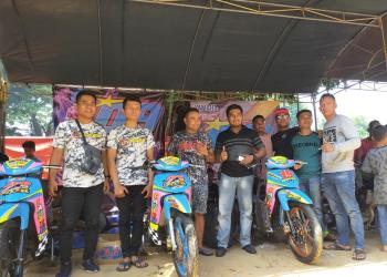 Herman Finanda saat mendampingi tim Capten Racing Sporty