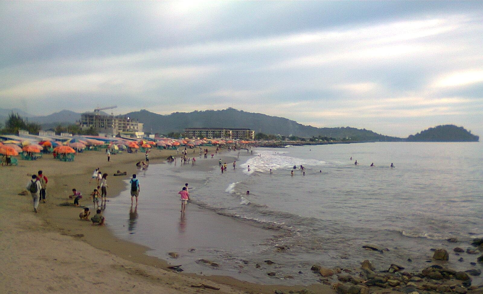 Pantai Purus Padang. Foto : Istimewa