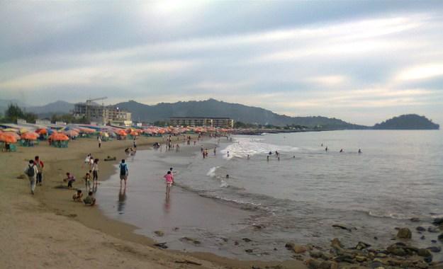 Ilustrasi. Pantai Purus Padang. Foto : Istimewa