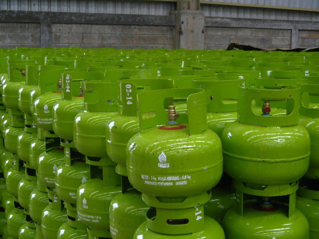 Ilustrasi gas LPG 3 Kilogram. Foto : Istimewa