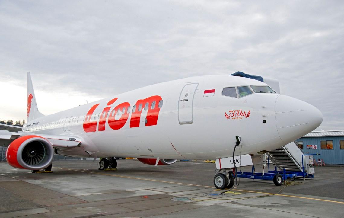 Ilustrasi Maskapai Lion Air.