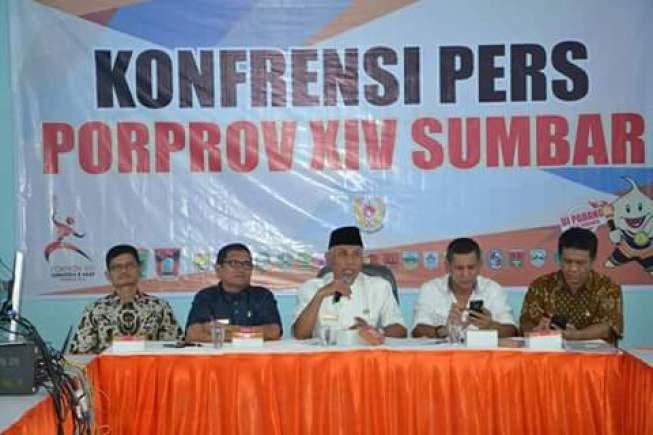 Konferensi Pers Pekan Olahraga Provinsi Sumatera Barat 2016. Foto : Istimewa