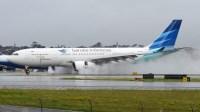 Maskapai Garuda Indonesia dengan pesawat tipe Airbus A330. Foto : Internet