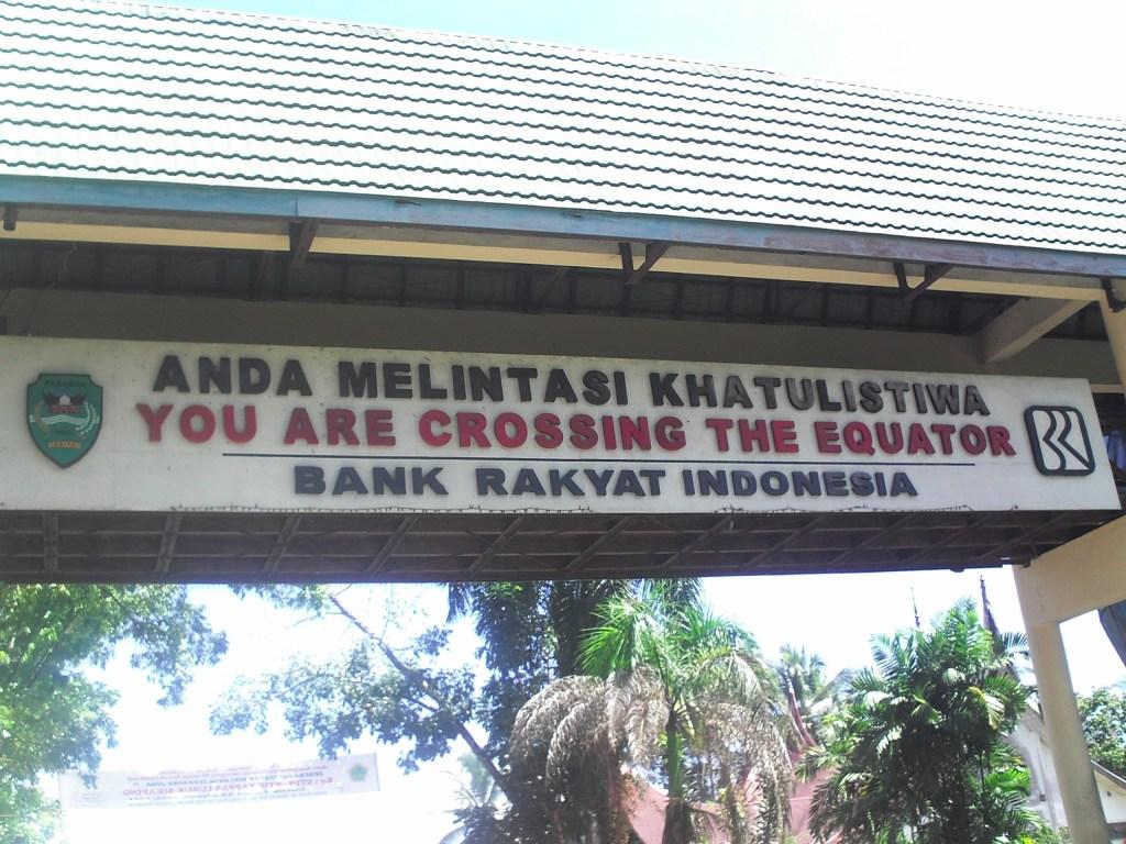 Lintas Khalustiwa Bonjol Sumatera Barat