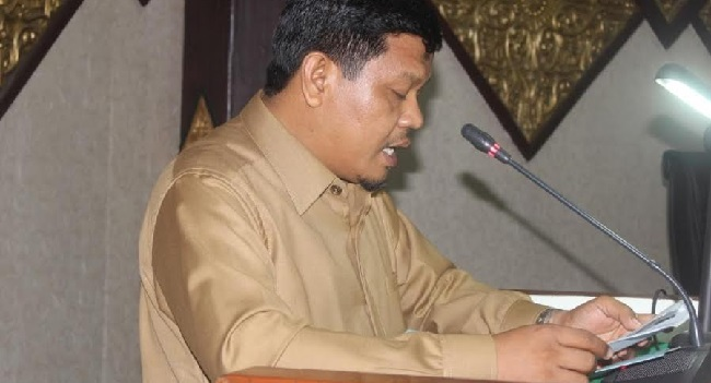 Budiman, dari fraksi Partai Keadilan Sejahtera (PKS) di DPRD Kota Padang