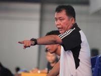 Pelatih Kepala Semen Padang FC sementara, Syafrianto Rusli.