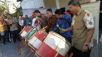 Gubernur Sumatera Barat (Sumbar) Irwan Prayitno membuka Pameran Senirupa dan Industri Kreatif di Taman Budaya, Kota Padang. Foto : Istimewa