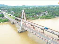Dharmasraya Mengupayakan Pemerataan Pembangunan Infrastruktur
