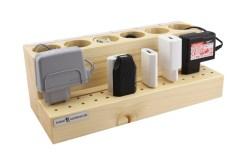 Kabel und Stecker sortieren - mit Beschriftungsmöglichkeit