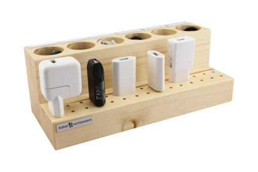 Kabel und Stecker aufbewahren - Mit Beschriftungsmöglichkeit