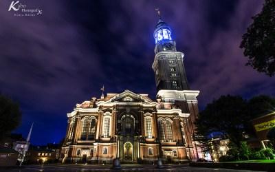 Städte in Deutschland bei Nacht