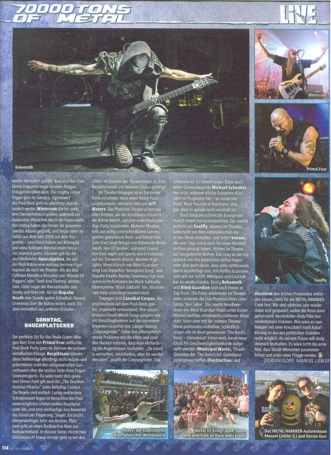Metal Hammer - March2015 - Story3