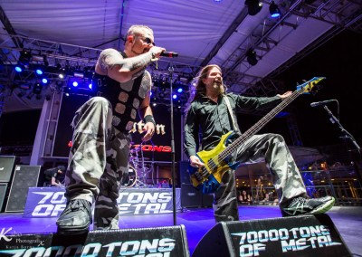 SABATON – 70000 tons of Metal 2018