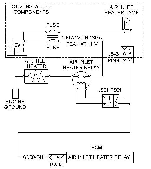 cat 3126 engine diagram 812?resize=512%2C572 cat 3126 intake heater wiring diagram cat wiring diagrams collection warren duct heater cbk wiring diagram at reclaimingppi.co