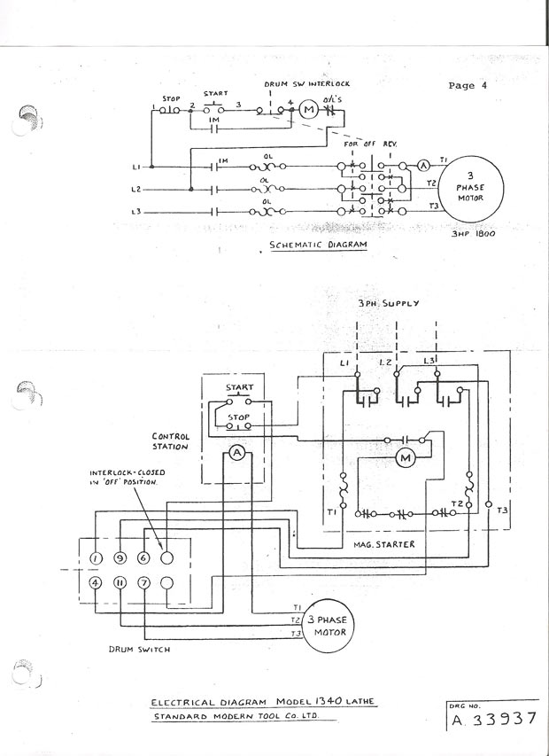 Eaton Reversing Starter Wiring Diagram Wiring Automotive Wiring Diagrams