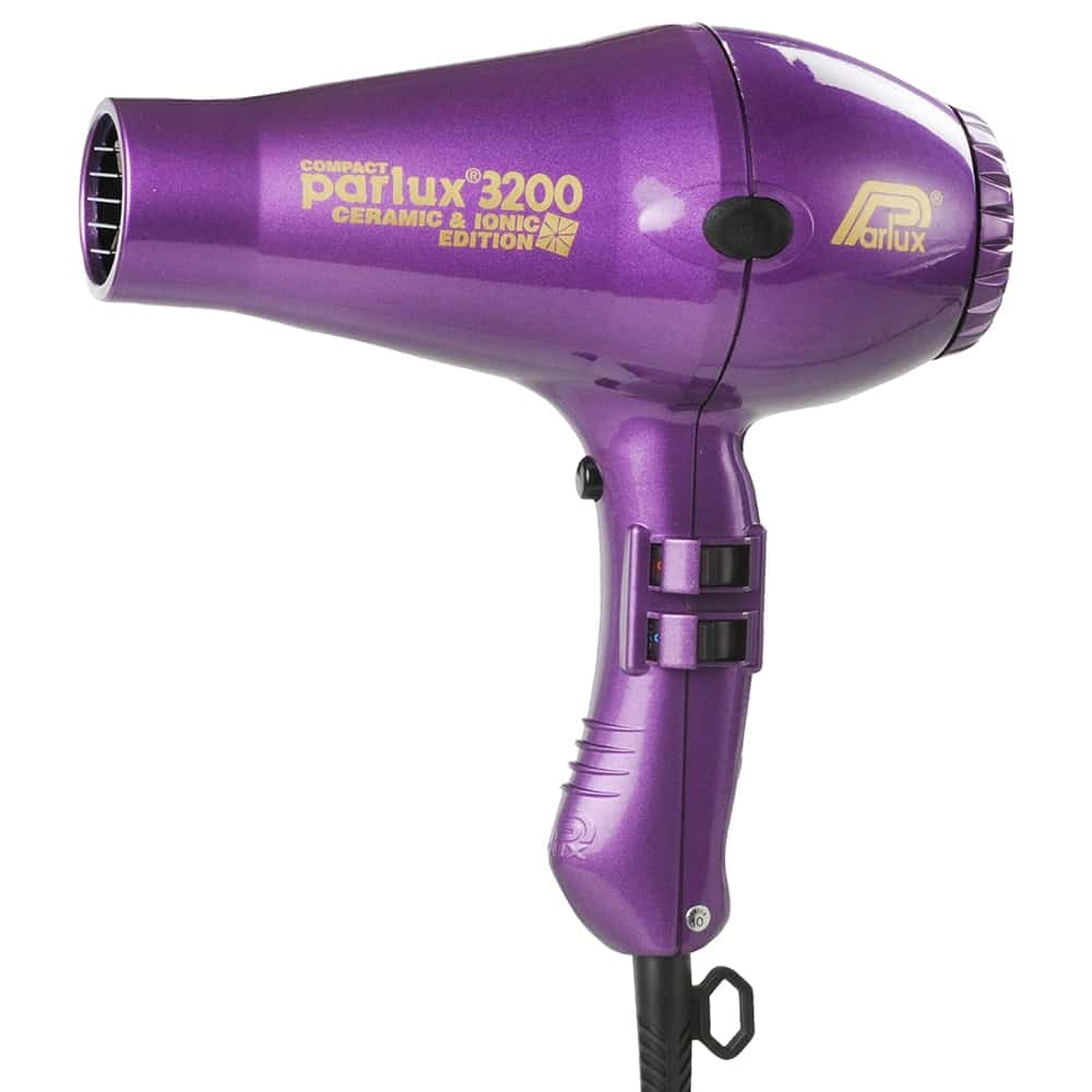 parlux 3200 compact ionic and ceramic hair dryer kabuki hair