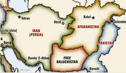 Image result for نقشه جدید ایران