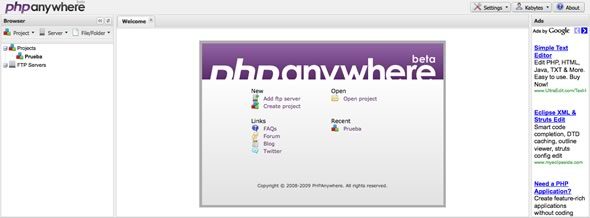 editor php online
